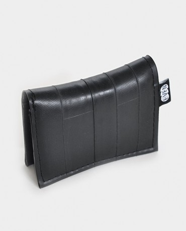 recycled inner tube bifold wallet