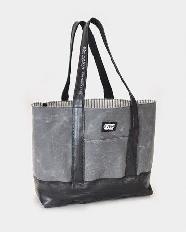 Waxed Canvas Reclaimed Bike Inner Tube Tote
