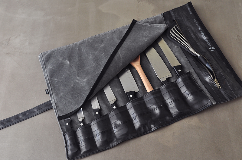 chef knife bags and rolls sale waxed canvas and leather chef knife roll knife bag the 1000. Black Bedroom Furniture Sets. Home Design Ideas