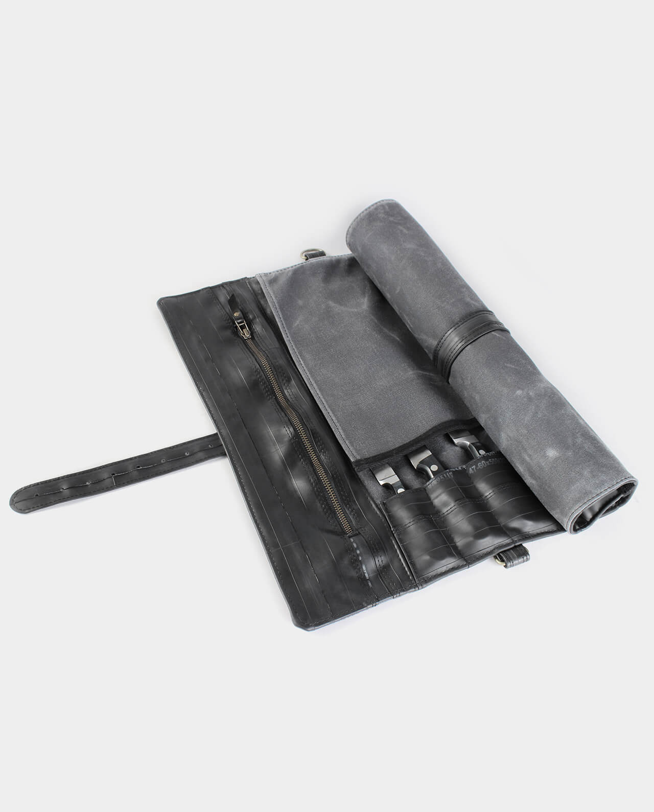 waxed canvas chef knife roll