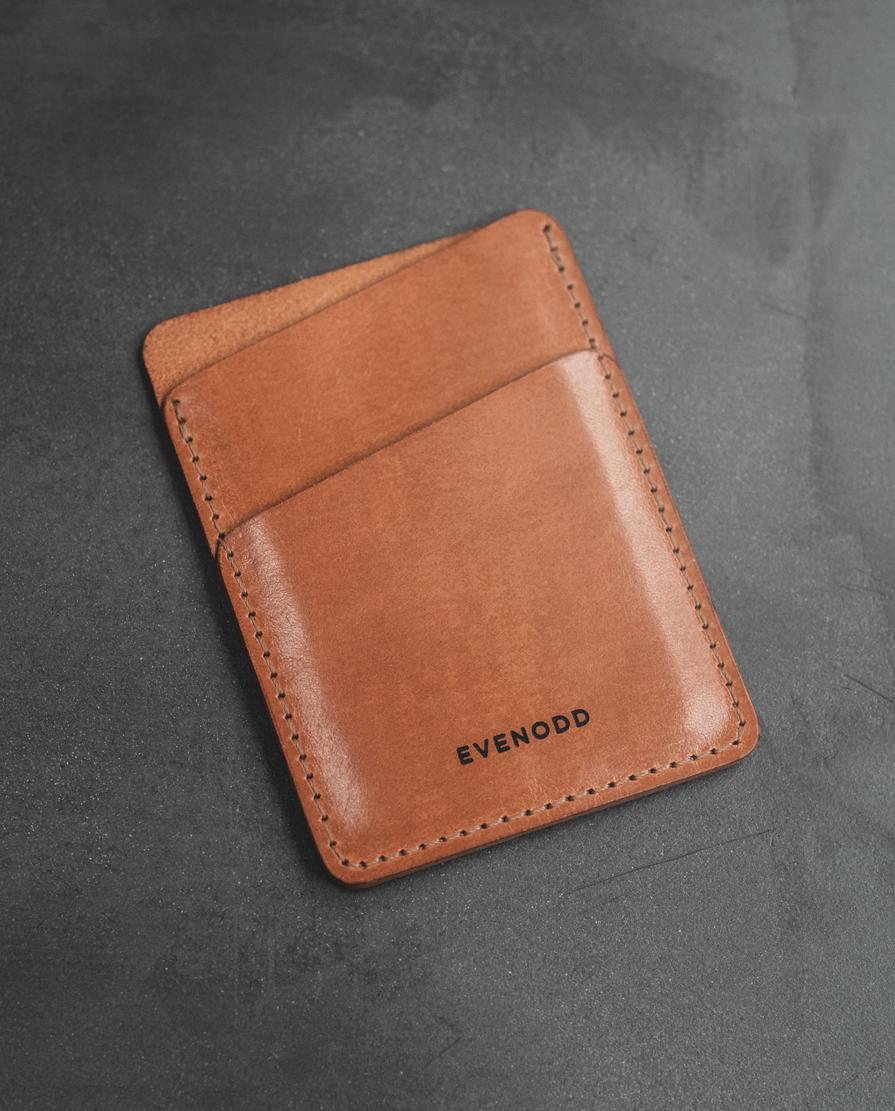 Leather Vertical Slim Wallet